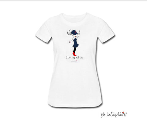 Love my red sox t-shirt - philoSophie's®