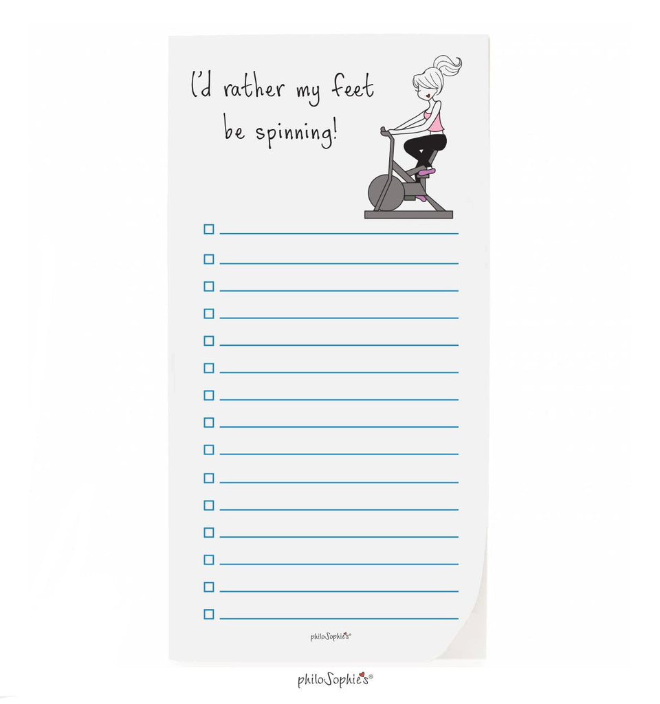 philoSophie❤️s® Spinning Notepad - philoSophie's®