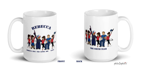Custom  Team Mugs - One-of-a-Kind philoSophie's Mugs for Coworkers, Family, and Teammates