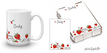 Strawberry Fields Gift Set