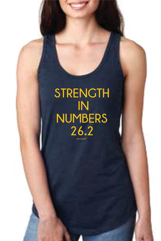 Strength in Numbers Marathon Tank Top