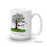 Strength is in the roots Mug