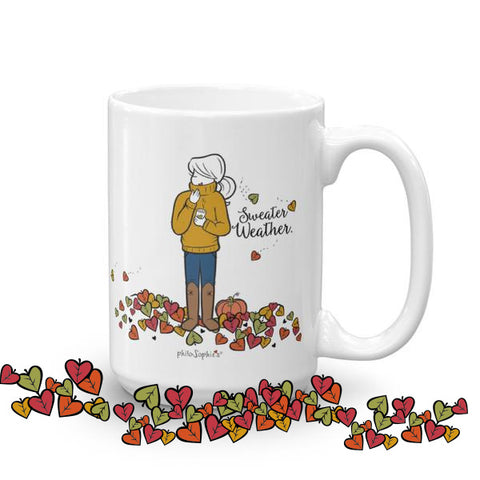 Sweater Weather Fall Mug - philoSophie's®