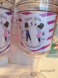 Sweet Girls. Bad Decisions. Personalized Wine Tumblers - philoSophie's®