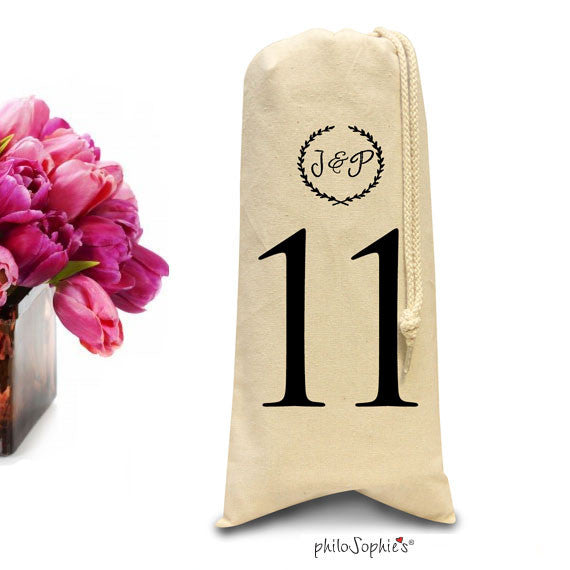 Party Tote Table Numbers/Wine & Spirits Tote - philoSophie's®