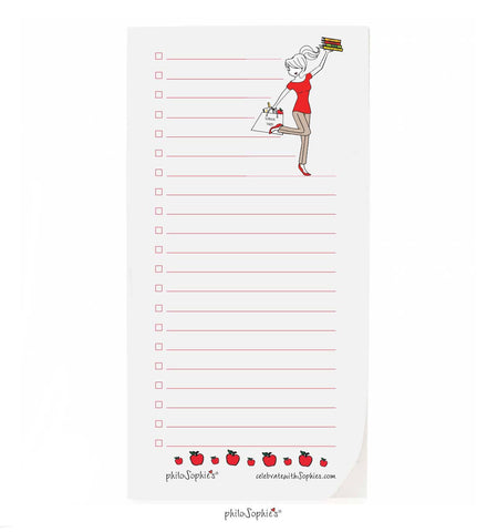Teacher philoSophie❤️s® Lots  To Do Notepad - philoSophie's®
