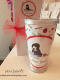 Teacher Water Tumbler - philoSophie's®