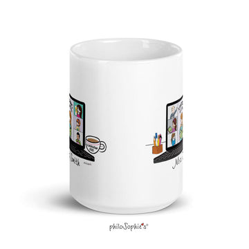 Zoom Teacher Ceramic Mug