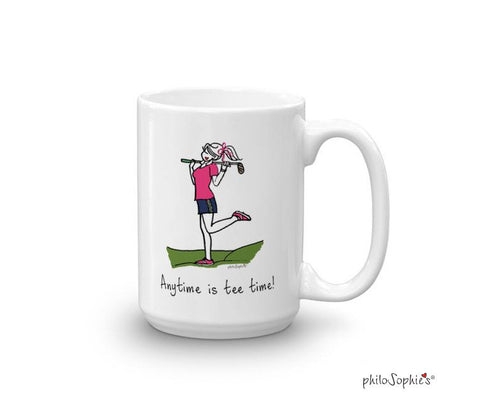 Anytime is tee time! - Mug