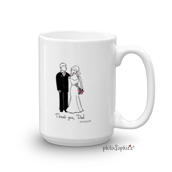 Thank You Dad - Wedding Mug - philoSophie's®