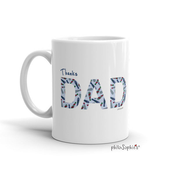 Father's Day Mug - Always look up to you. - philoSophie's®