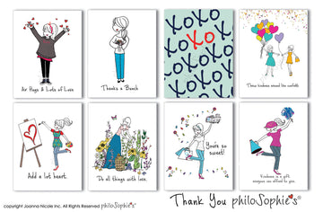 Thank You philoSophie's Boxed Notecard Set