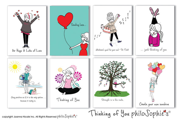 Thinking of You philoSophie's Boxed Notecard Set