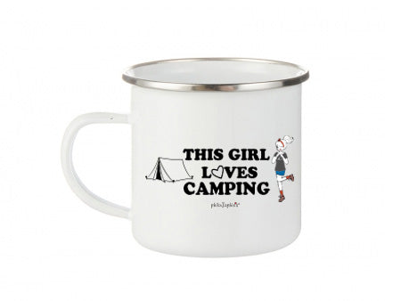 This Girl Loves Camping - Camp Cup - philoSophie's®