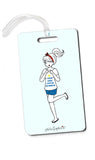 This Girl Loves Summer philoSophie's Luggage Tags - philoSophie's®