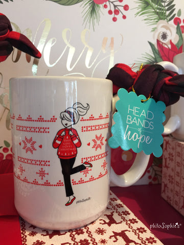 Christmas in July: This Girl Loves Christmas - Mug/Headband Gift Set - philoSophie's®