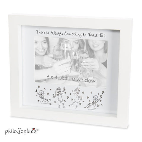 There's always something to toast to!  Frame - philoSophie's®