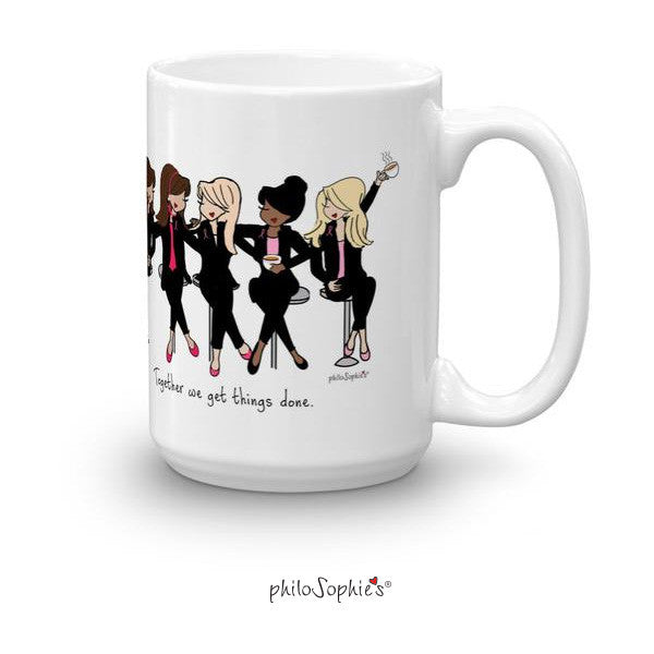 Personalized philoSophie's Teamwork Mug - philoSophie's®