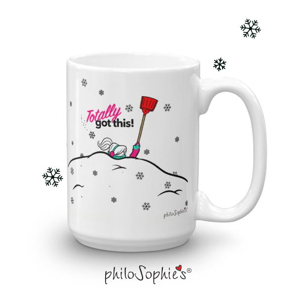 Totally Got This! Winter Mug ( Non Personalized) - philoSophie's®