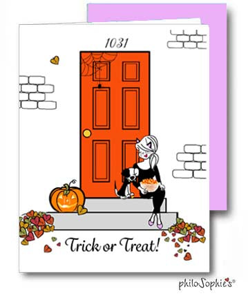 Trick or Treat Greeting Card - philoSophie's®