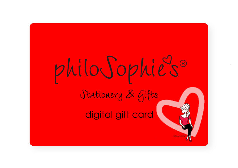 Valentine philoSophie's Digital Gift Card - philoSophie's®