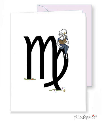 Zodiac: Virgo Greeting Card