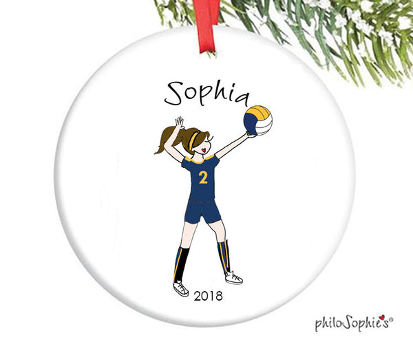 Volleyball Ornament - personalized philoSophie's - philoSophie's®