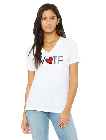 VOTE -  V Neck T-Shirt