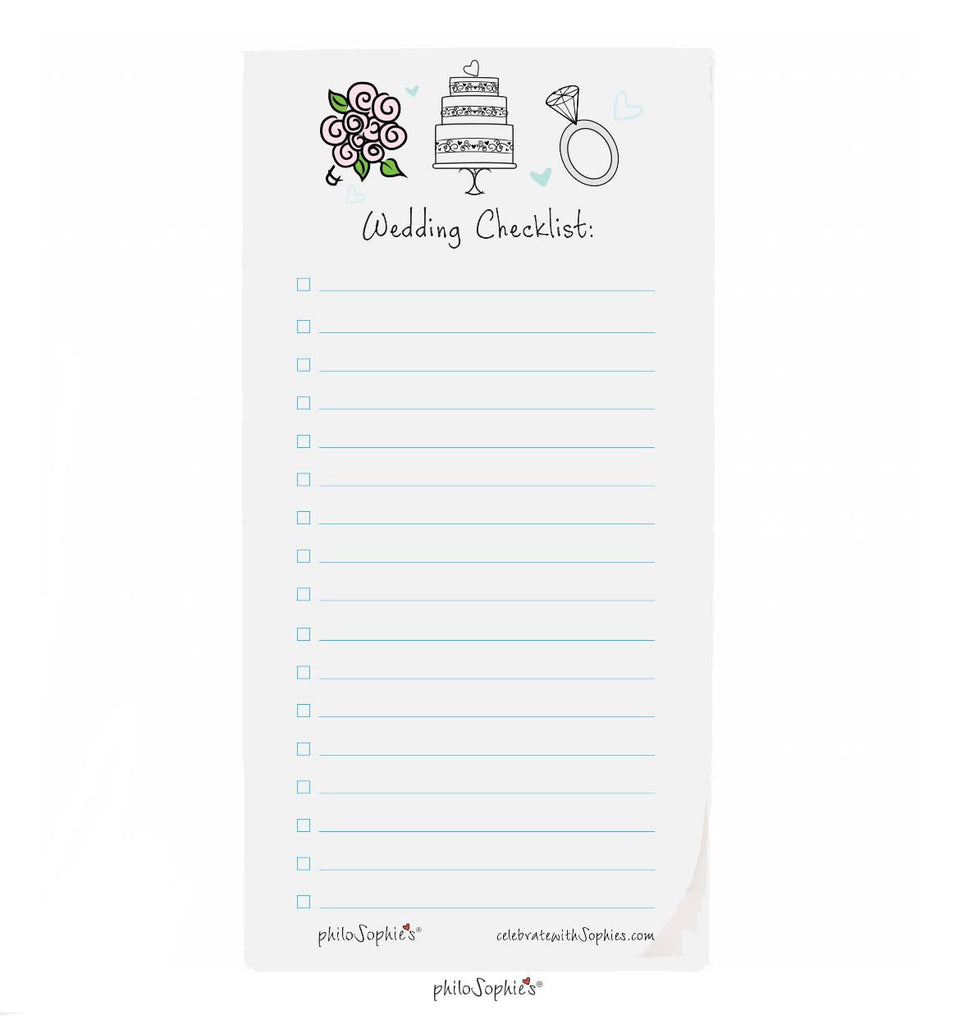 Wedding Checklist - philoSophie's®