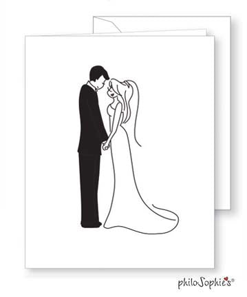 Happy Couple - Wedding Greeting Card