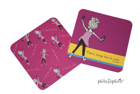 Wine Coaster Sets - philoSophie's®