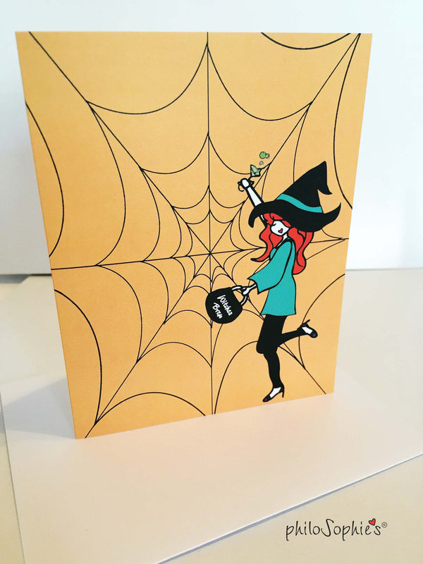Witches Brew Greeting Card - philoSophie's®