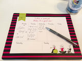 Life's a Workout Weekly Desk Pad - philoSophie's®