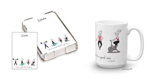 Life's a workout gift set - philoSophie's®