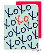 XO - Valentine Greeting Card - philoSophie's®