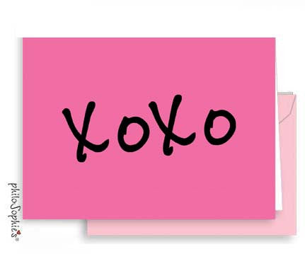XOXO - Small Valentine Love Notes - philoSophie's®