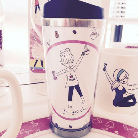 You got this! Travel Coffee Tumbler - philoSophie's®