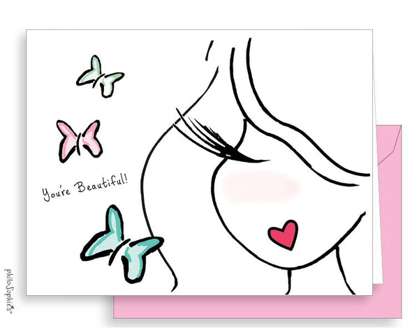 You're beautiful ! Butterfly philoSophie's Notes - philoSophie's®