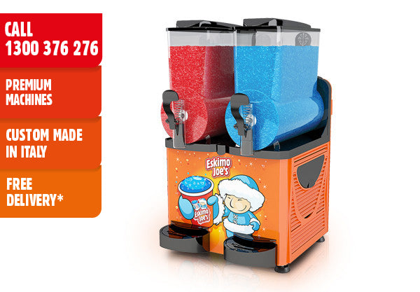 Eskimo Joe's Approved Used Twin Bowl Slush Machine