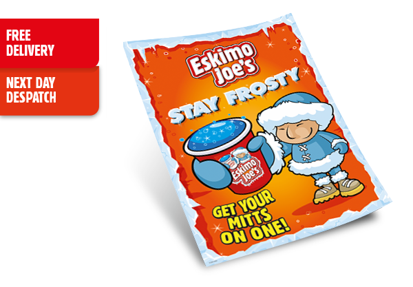 A3 Get Your Mitts On One Window Cling - Eskimo Joe's Australia