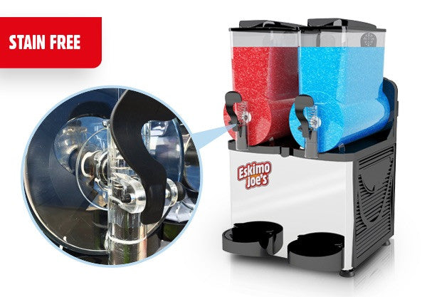 Eskimo Joe's Twin Bowl Slush Machine - Black - Eskimo Joe's Australia - 6