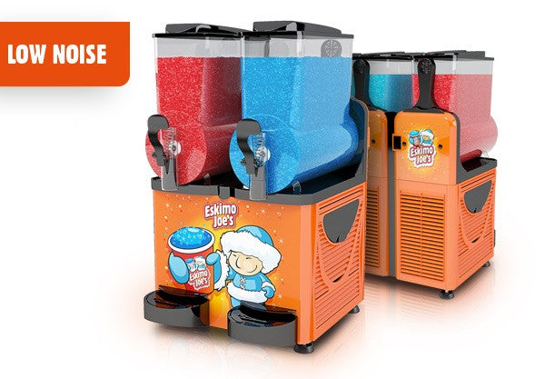 Eskimo Joe's Twin Bowl Slush Machine - Orange - Eskimo Joe's Australia - 3