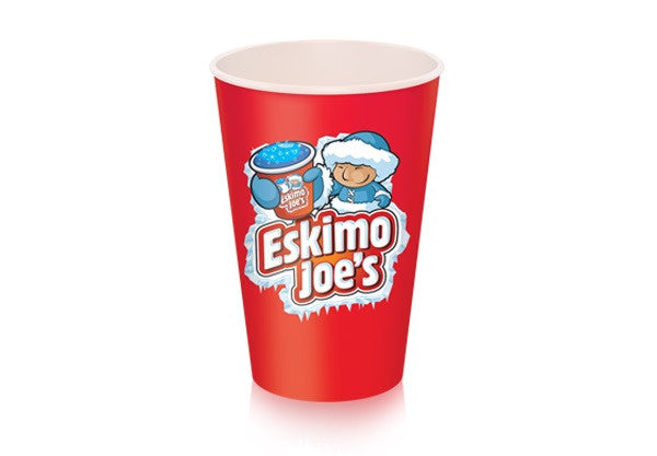 Large 454ml Paper Slush Cups - 1000 Box - Eskimo Joe's Australia - 2