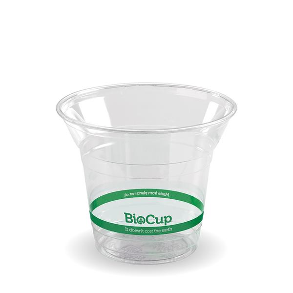 300ml Clear BioCup Slush Cups - 1000 Box