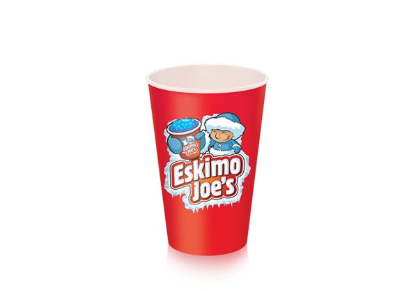 Small 230ml Paper Slush Cups - 1000 Box - Eskimo Joe's Australia - 2