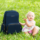 Diaper Backpack (Blue)