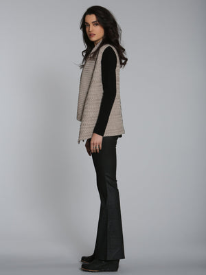 City Cable Cardigan - Wheat