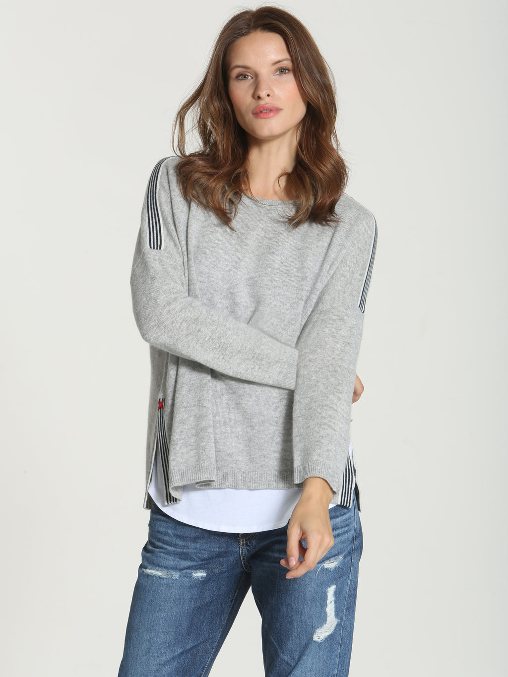 Luxe Vineyard Crew - Grey