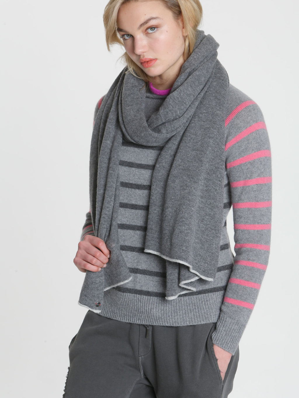 Ski Mock Neck - Grey