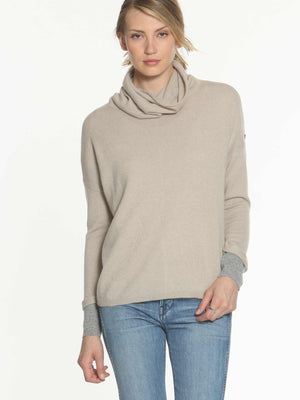 Luxe Leisure T-Neck - Jute